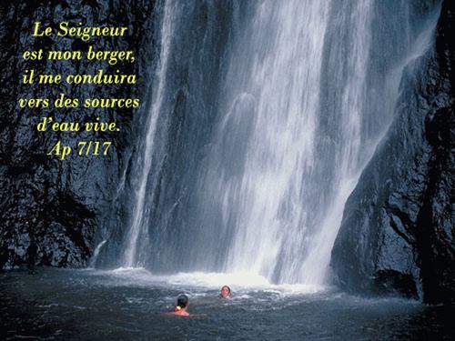 Le Seigneur est mon berger .... eau vive