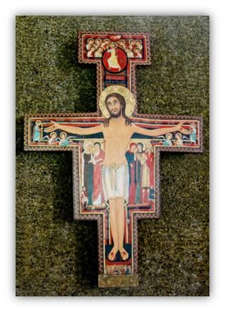 5 crucifix st damiano