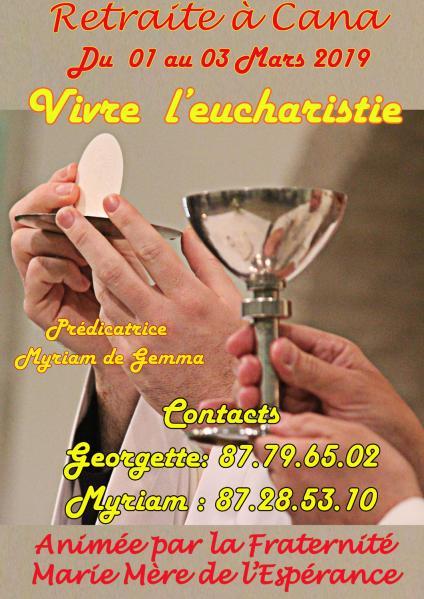 Affiche eucharistie 2019aw