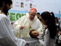 Bapteme par le pape
