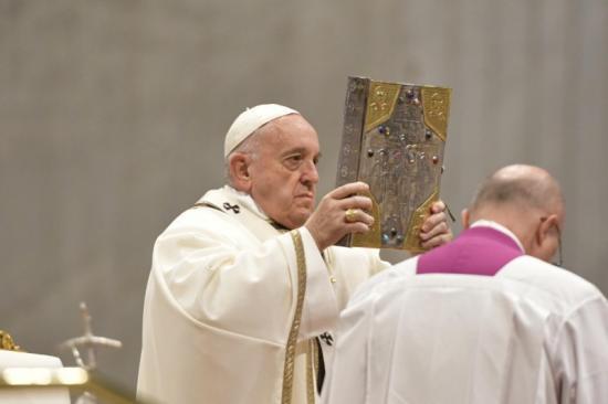 Pape francois lectionnaire